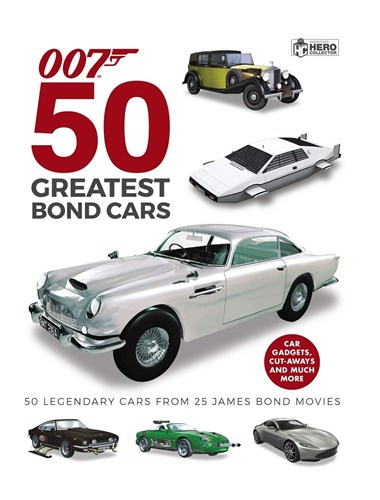 50 Greatest Bond Cars Book