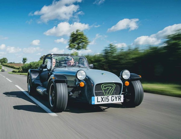 Advanced Road Master Caterham On The Road