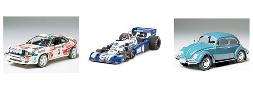 Racing car scale model