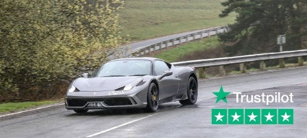 Ferrari on Millbrook Proving Ground for Gift Driving Experience