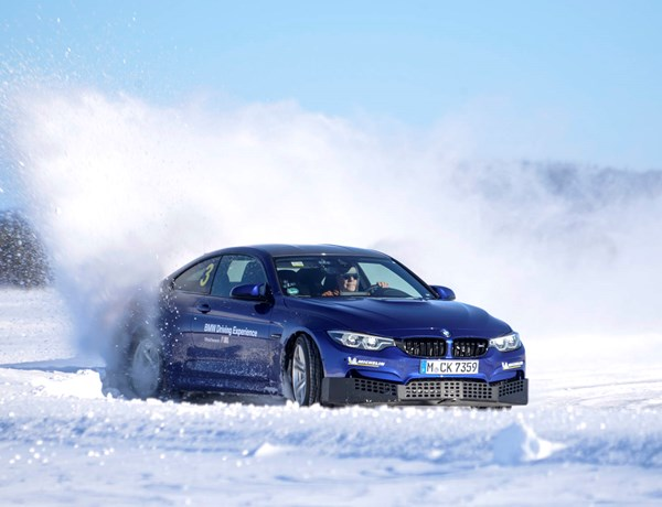 M4 Competition Ice Driving 14032020