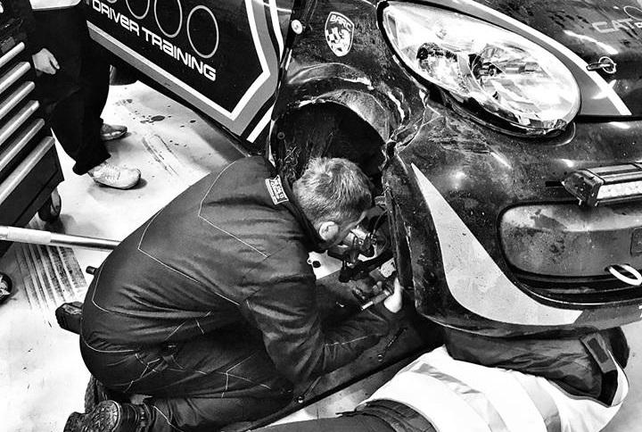 Racing repairs
