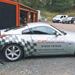 Advanced driving course at Millbrook