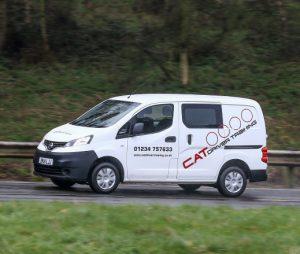 CATDT Van at Millbrook