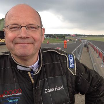 Colin Hoad on track