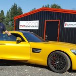 Sportscar driving course