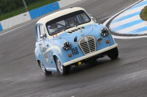Austin A35 HRDC race training