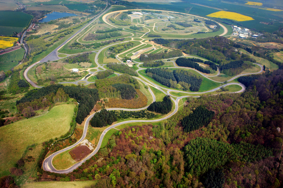 Driver training at Millbrook Proving Ground