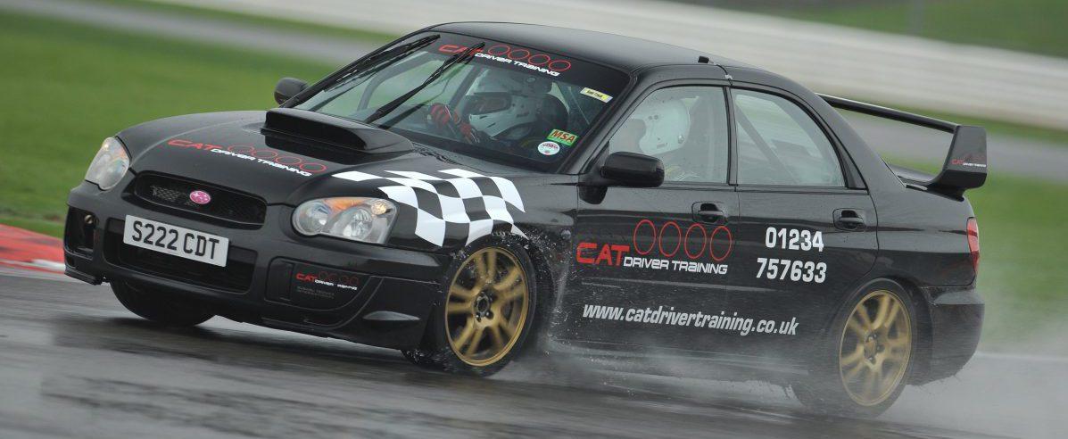 Track prepared Subaru