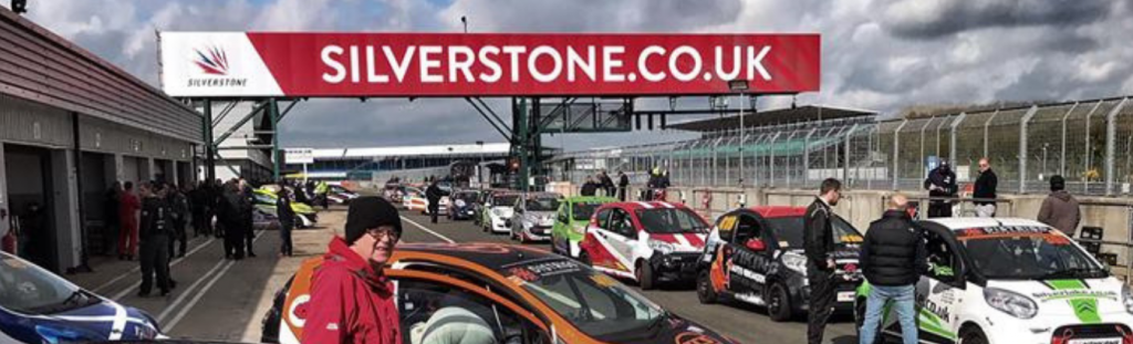 C1 cars on the grid at Silverstone