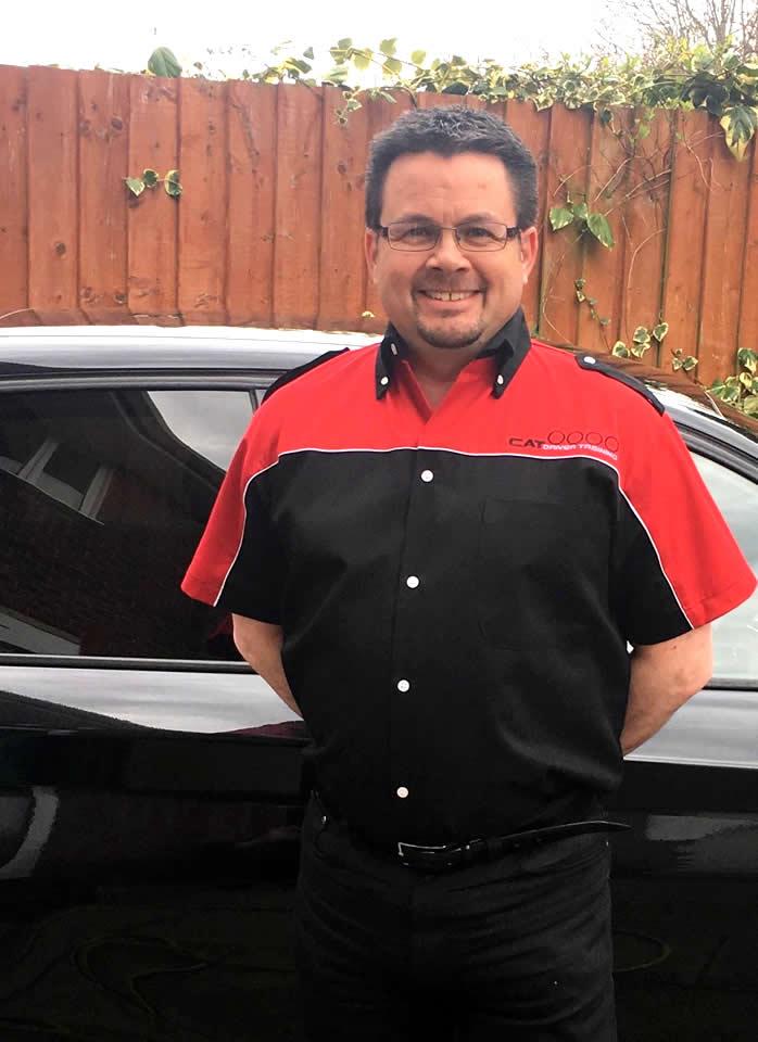 CAT Driver Training Instructor Steve Tanner