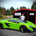 Supercar driving course