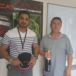Driver of the Day & Fastest Time Set - driving competitions with CAT at Millbrook