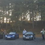 inaugural high performance driver training Porsche Boxsters